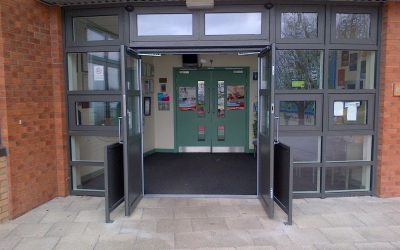 New Entrance for Heaton Manor School